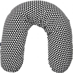 Perna pentru gravide si alaptat COMFORT EXCLUSIVE 170 cm cu bilute de polistiren Womar Zaffiro AN-PKE-17P0