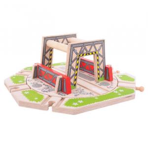 Platforma industriala rotativa0