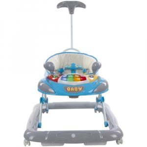 Premergator cu control parental Super Car - Sun Baby - Albastru cu Gri [1]
