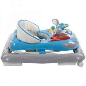 Premergator cu control parental Super Car - Sun Baby - Albastru cu Gri [3]