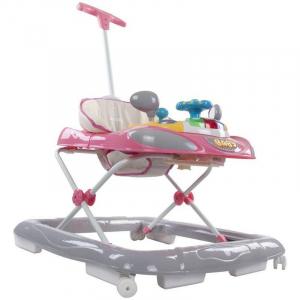 Premergator cu control parental Super Car - Sun Baby - Roz cu Gri [2]