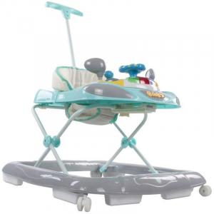 Premergator cu control parental Super Car - Sun Baby - Turcoaz cu Gri2