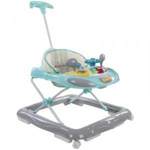 Premergator cu control parental Super Car - Sun Baby - Turcoaz cu Gri0
