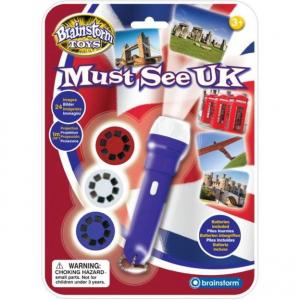 Proiector obiective turistice Marea Britanie Brainstorm Toys E20440