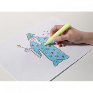Proiector pentru desen cu pix fosforescent inclus The Original Glowstars Company B8504 [4]