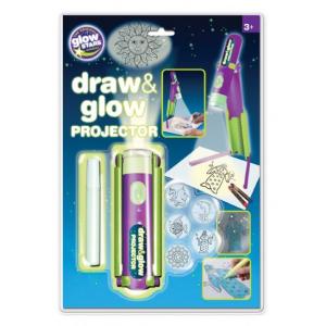 Proiector pentru desen cu pix fosforescent inclus The Original Glowstars Company B8504 [0]