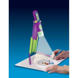 Proiector pentru desen cu pix fosforescent inclus The Original Glowstars Company B8504 [1]
