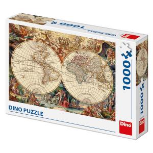 Puzzle - Harta istorica (1000 piese)0