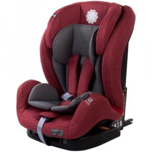 Scaun auto cu sistem Isofix si DTS 9-36 kg - Sun Baby - Rosu0