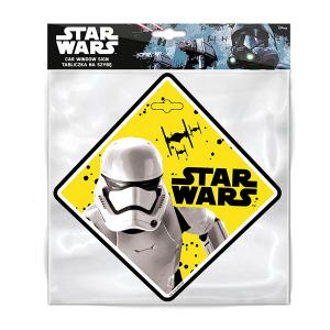 Semn de avertizare Baby on Board Star Wars Stormtrooper Seven SV96241
