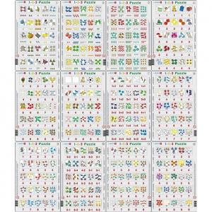 Set 12 Puzzle-uri 1-2-3, 25 Piese Larsen LRP460
