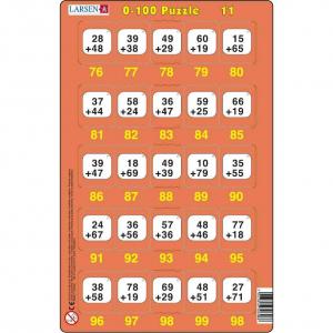 Set 16 Puzzle-uri 0 - 100, 25 Piese Larsen LRP4811