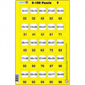 Set 16 Puzzle-uri 0 - 100, 25 Piese Larsen LRP489