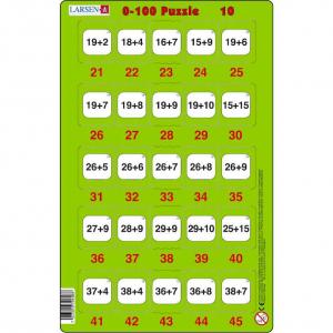 Set 16 Puzzle-uri 0 - 100, 25 Piese Larsen LRP4810