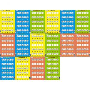 Set 16 Puzzle-uri 0 - 100, 25 Piese Larsen LRP480