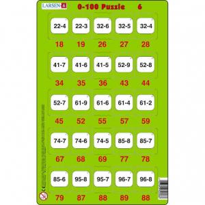 Set 16 Puzzle-uri 0 - 100, 25 Piese Larsen LRP486
