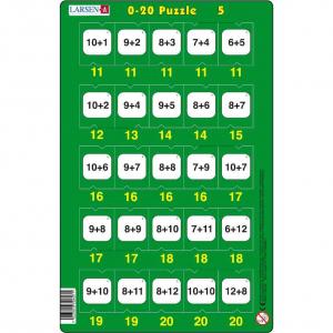 Set 16 Puzzle-uri 0 - 20, 25 Piese Larsen LRP475