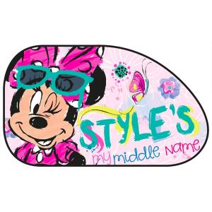 Set 2 parasolare auto XL Minnie Style Disney Eurasia 270301