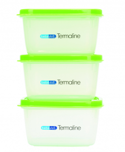 Set 3 recipiente hrana copii Termaline  BebeduE 80135 [0]