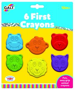 Set 6 creioane colorate - Animalute0