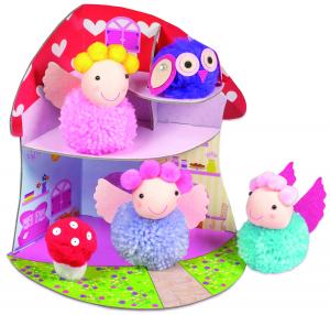 Set creativ - Fairy Pompom House1