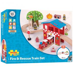Set cu trenuletul pompierilor1