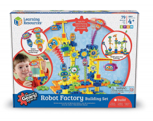 Set de constructie - Gears! Fabrica de robotei5