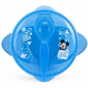 Set hranire pentru calatorii Mickey Mouse Lulabi 79663000