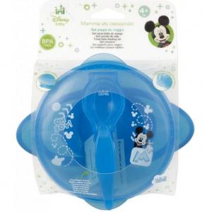 Set hranire pentru calatorii Mickey Mouse Lulabi 79663004