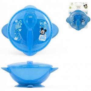 Set hranire pentru calatorii Mickey Mouse Lulabi 79663003