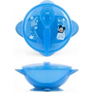 Set hranire pentru calatorii Mickey Mouse Lulabi 79663002