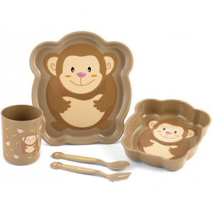 Set pentru masa 5 piese Maimutica Lulabi 79730950