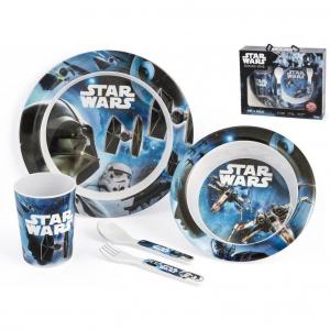 Set pentru masa melamina 5 piese Star Wars Rogue One Lulabi 83305001