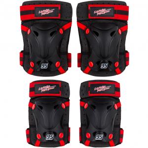 Set protectie Skate Cotiere Genunchiere Cars Seven SV90230