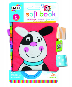 Soft Book: Carticica moale Pets1