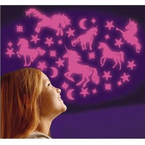 Stele roz si unicorni  fosforescenti The Original Glowstars Company B86261