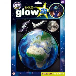 Stickere 3D - Planeta Pamant The Original Glowstars Company B81050
