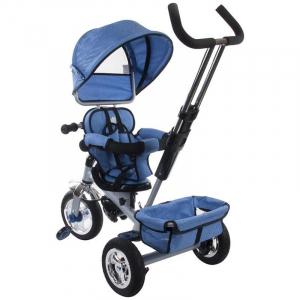 Tricicleta Confort Plus - Sun Baby - Melange Albastru [4]