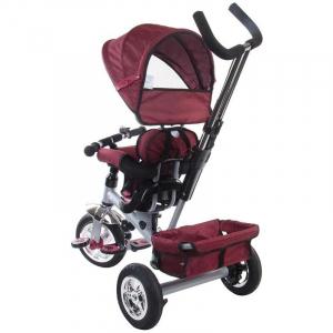 Tricicleta Confort Plus - Sun Baby - Melange Rosu [4]