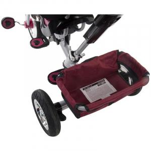 Tricicleta Confort Plus - Sun Baby - Melange Rosu [7]