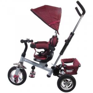 Tricicleta Confort Plus - Sun Baby - Melange Rosu [1]