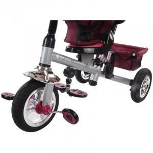 Tricicleta Confort Plus - Sun Baby - Melange Rosu [5]