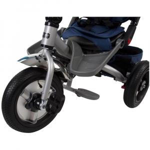 Tricicleta multifunctionala Little Tiger T400 - Sun Baby - Albastru6