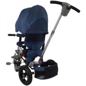 Tricicleta multifunctionala Little Tiger T400 - Sun Baby - Albastru3