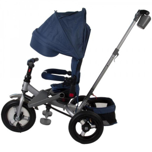Tricicleta multifunctionala Little Tiger T400 - Sun Baby - Albastru1