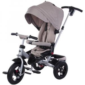 Tricicleta multifunctionala Little Tiger T400 - Sun Baby - Bej0