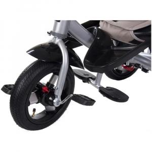 Tricicleta multifunctionala Little Tiger T400 - Sun Baby - Bej5