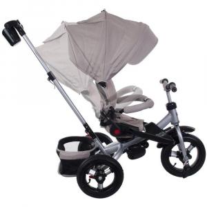 Tricicleta multifunctionala Little Tiger T400 - Sun Baby - Bej1