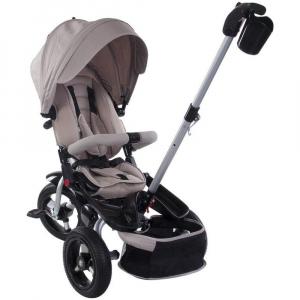 Tricicleta multifunctionala Little Tiger T400 - Sun Baby - Bej2