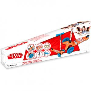 Trotineta cu 3 roti Star Wars BB8 Seven SV99194